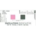 Indicator sterilizare, indicatoare de emulsie de tip 6, 15 min. la 121 °C sau 3,5 min. la 134 ° C, set 250 buc