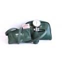 Tensiometru Erka Perfect Aneroid, 48mmm,supapa cu surub, manseta lavabila numarul 4, pentru adulti, in etui verde