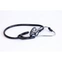 Stetoscop ERKA FINESSE pentru adulti, cu piesa de ascultare dubla cromata, tubulatura dubla