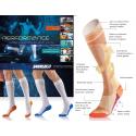 Ciorapi Dryarn unisex cu compresie pentru sport si recuperare, compresie 15-21 mm/Hg