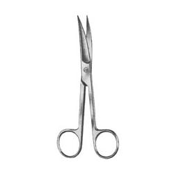 Foarfeca chirurgicala standard, curba, varf ascutit/ascutit, lungime 17.5 CM