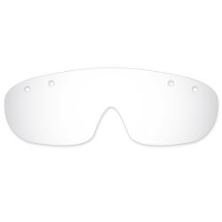 Lentila din material plastic pentru ochelari de protectie